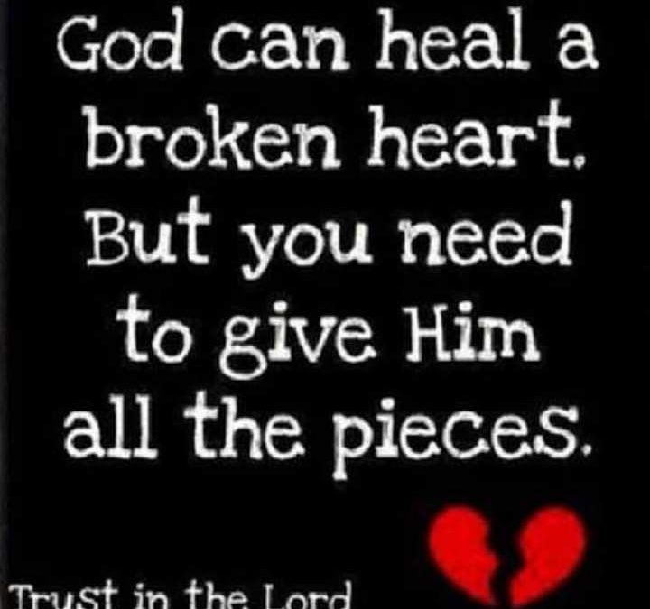 Healing For Infidelity